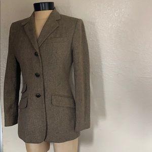Lauren Ralph Lauren Equestrian tweed Jacket Sz. 4P